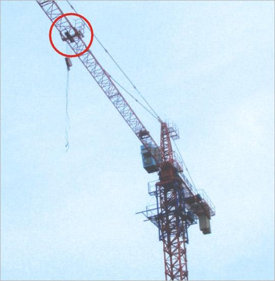 建筑塔吊作业吊装监视监控系统-宁波正鼎电子科技